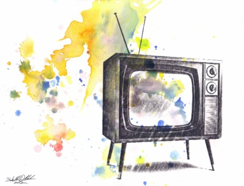 retro-television-painting-prints